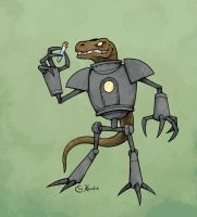 Mecha-Monitor Lizards by Monster-Man-08