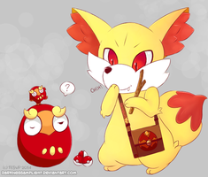 Fennekin and Darumaka