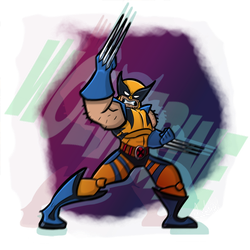 Wolverine - X-Men Challenge - Collab by botconboy
