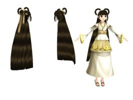 MMD Empress Hair Download by SachiShirakawa