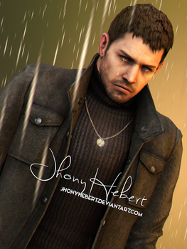 I miss you, Piers - Chris Redfield by JhonyHebert