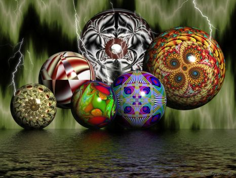 Electric Balls by Rozrr