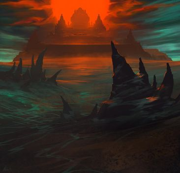 The Shadow's Lair by noahbradley