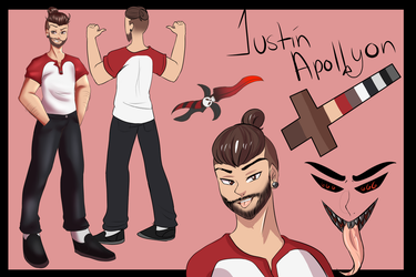 Justin Reference by Mewssii