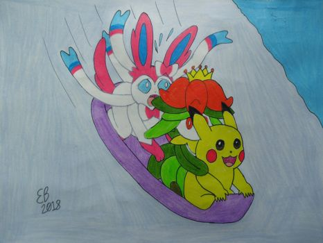 La Glissade Des Pokemon by shnoogums5060