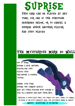 My little Fluxx - The Mysterious Mare do Well by Jemrol