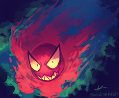 Gastly by MusicalCombusken