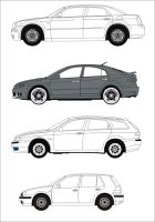 Vector Cars by FictionFactory77