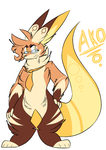 Ako the BoxFox by Perma-Fox