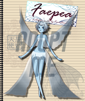 Adoptable Faepea - Winter by kuroitenshi13