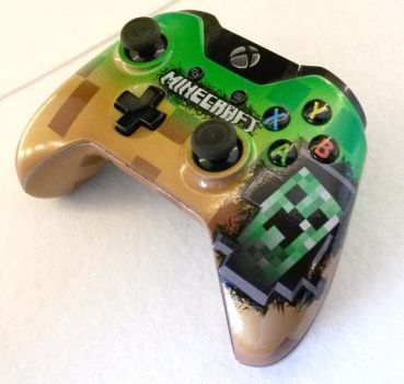 XBOXONE CUSTOM CONTROLLER minecraft by chrisfurguson