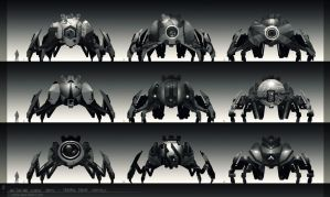 Pod Drones Concepts by iancjw