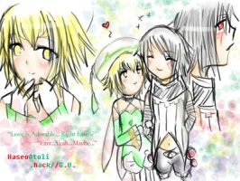 haseo and atoli heart by AtoliGreenBird