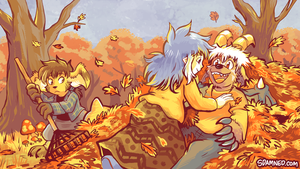 September 2016 Patreon Wallpaper Preview by raizy