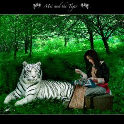 Mai And The Tiger by vm0572