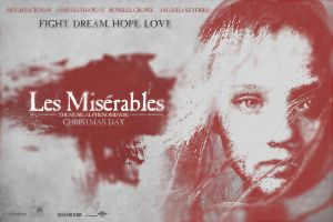 Les Miserables Movie Poster - Variant by JSWoodhams