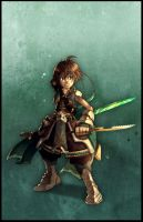 Collab 02 : swordman by Fred-H