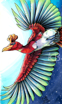 Ho-oh by phantos