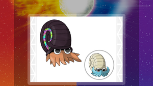 Alolan Form Omanyte by ConnorGotchi