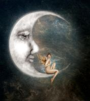 The Man in the Moon by JinxMim