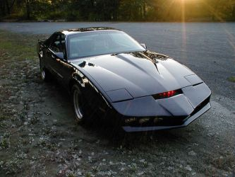 K.I.T.T. from Knight Rider by darqueraven