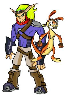 Jak and Daxter by bleydbreaker