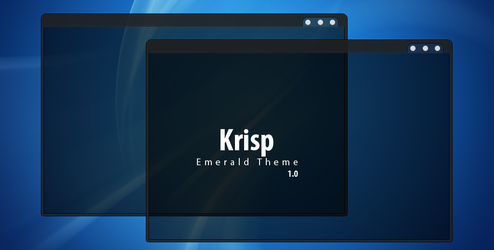 Krisp - Emerald theme by 0rAX0