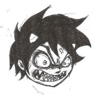 Karkat Angry Face by ZephyrXenonymous