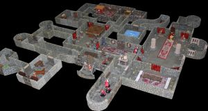 Castle Korvosa Ileosa throne room level 2 by MrVergee