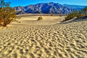 Mesquite Sand Dunes of Death Valley by RichardNohs