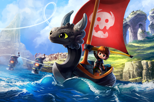 HTTYD: The Wind Waker by TsaoShin