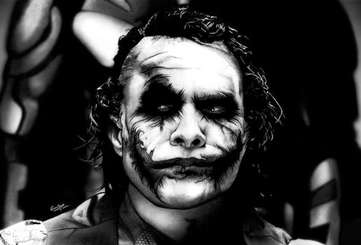 Why So Serious? by Liam J. York by MrYorkie