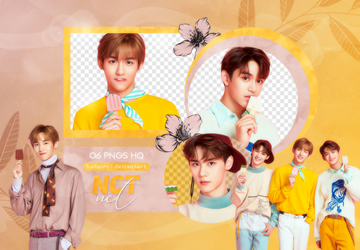 PNG PACK: Winwin, Lucas and Kun by Hallyumi
