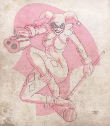 Harley Quin Skecth by Chivohit