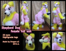 Shepherd dog female full suit by dragon-x2