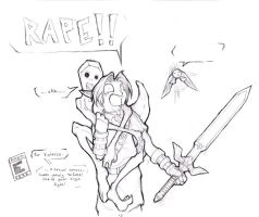When Redeads attack sketch by zankara