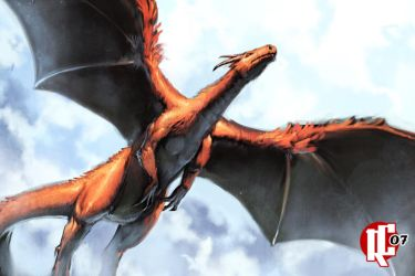 Red Dragon by Rogie-C