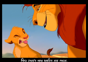 Daddy, how are babies made? by Paintifymyartplz