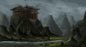 Ancient Japan by Nuditon