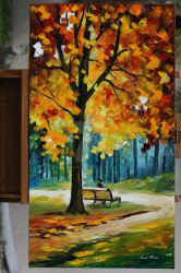 Recollection of the past by Leonid Afremov by Leonidafremov