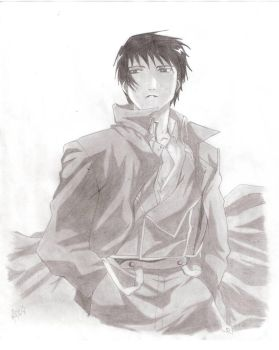 Roy Mustang by vianka