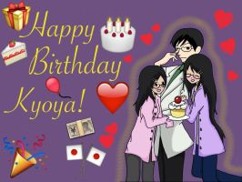 Happy Birthday Kyoya by SisterStories