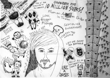 Congratulations For 10 Million Subs, Jack! by RowlingFan12