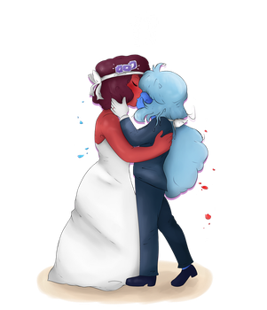 A perfect Gem couple! by ladyevel