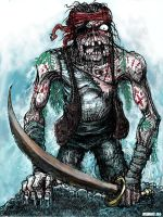 Zombie Pirate by Manu-2005