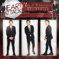 +Louis Tomlinson Pack Png by Heart-Attack-Png