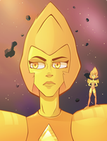 Yellow Diamond by ZeekMacard
