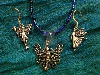 Faerie Charms Jewelry Set by Omaline