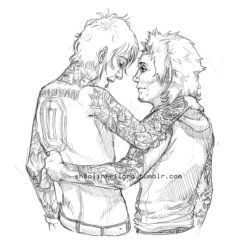 Brian and Jimmy sketch by shaolinfeilong