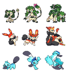 Fake starters by x-sky300